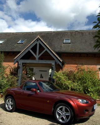 A house and a car