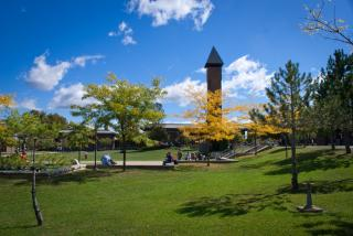 Photo of a College Campus